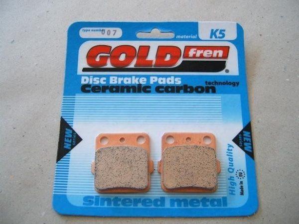 Pastillas de freno Gold Fren K5