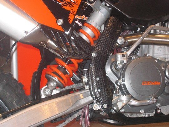 Protector chasis KTM