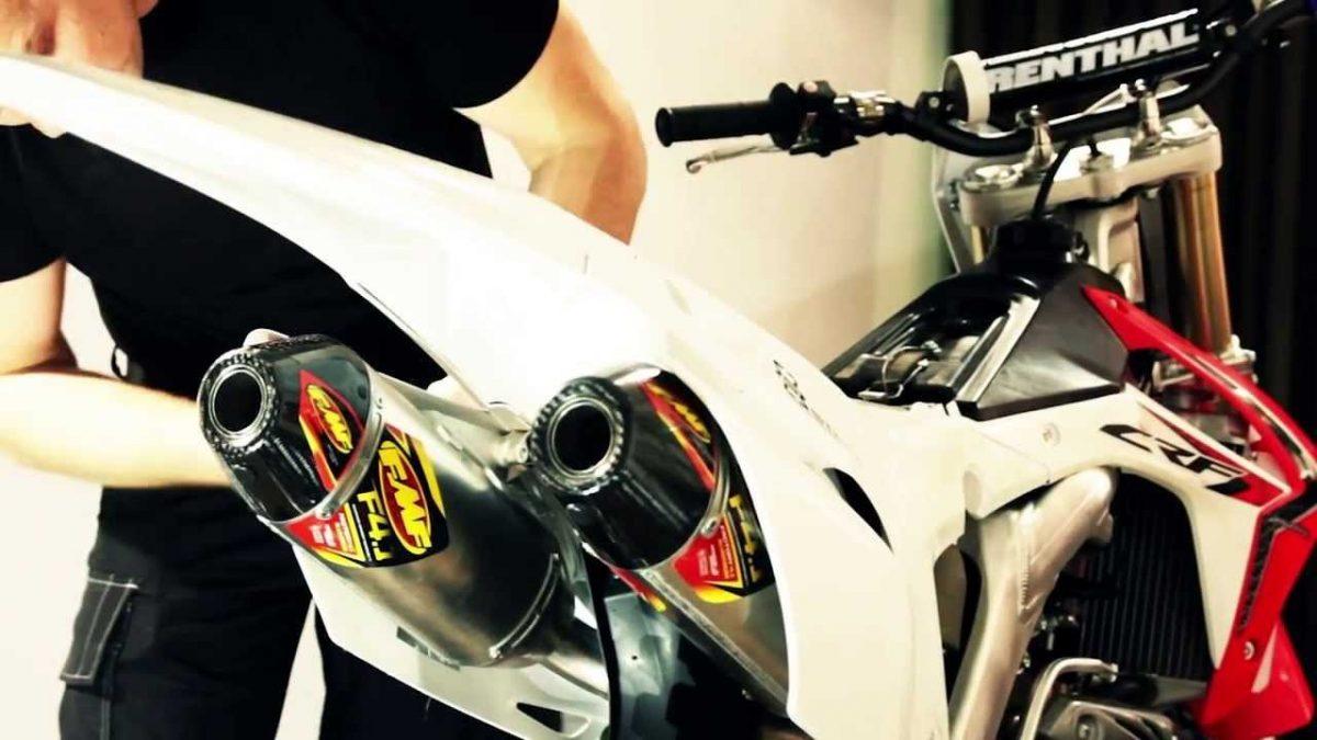 Silencioso FMF 4.1 RCT Honda doble