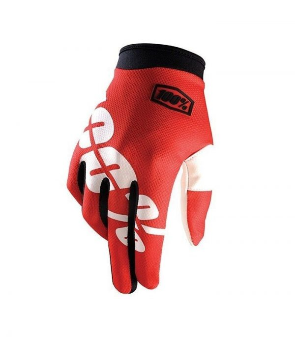 Guantes 100% iTrack Fire Red