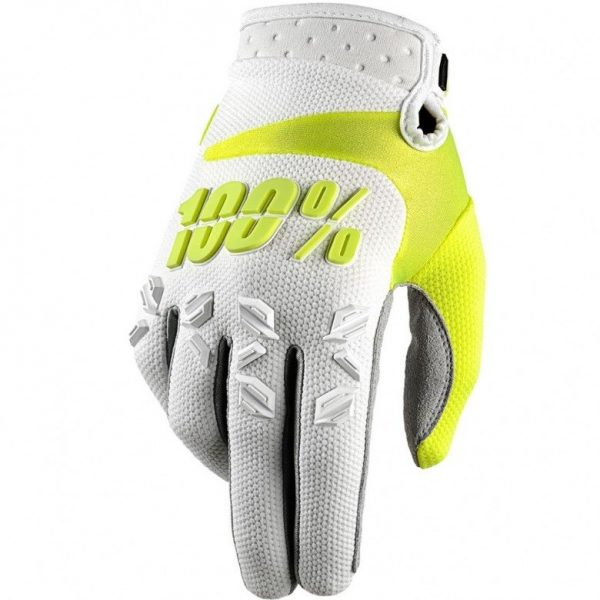 Guantes 100% Airmatic White