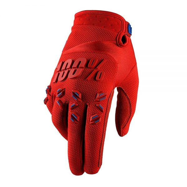 Guantes 100% Airmatic Fire Red